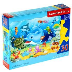 Пазл «Подводные друзья», 30 элементов