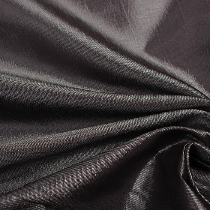 Ткань портьерная тафта ш.280см, дл. 10 м., цв.10 Мокрый асфальт 200 гр/м2, 100% п/э
