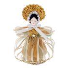 """Авторская сувенирная кукла """"Девушка в летнем наряде"""" 1-я пол.19 в."""