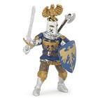 Рыцарь с украшением на шлеме, синий