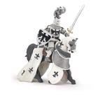 Белый хохлатый рыцарь