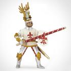 Рыцарь с символом Флер де Лис, белый
