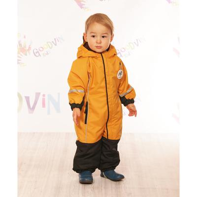 """Комбинезон для мальчика """"МАКС"""", рост 86 см (48), цвет оранжевый КМ21117-12_М"""