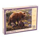 Пазл «Медведи гризли. Роберт Бейтман», 400 элементов