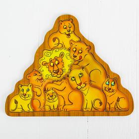 Головоломка «Львы»