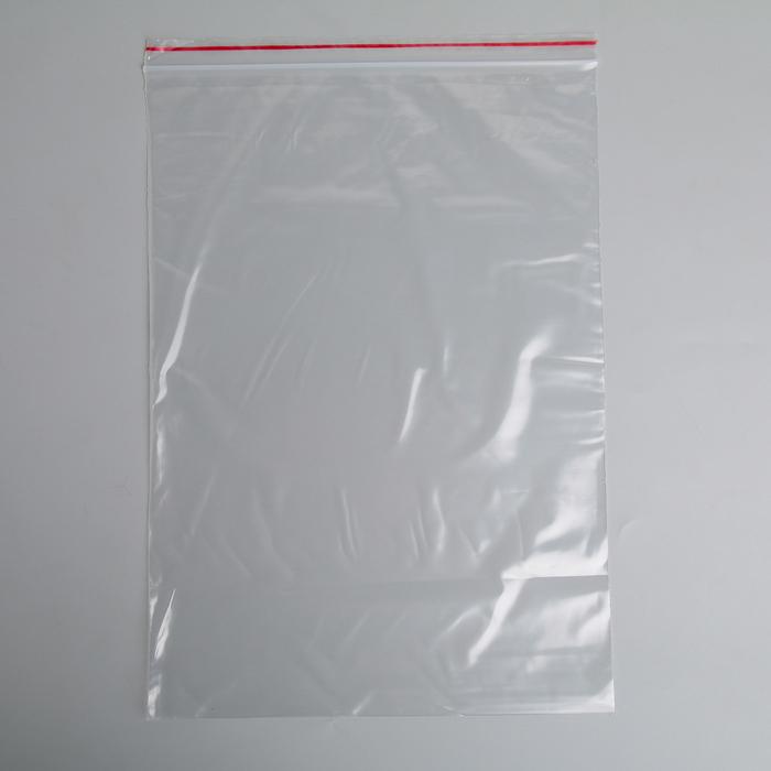 """Многофункциональные пакеты с застежкой 25х35см """"Зиплок"""", 10 шт, прозрачные"""