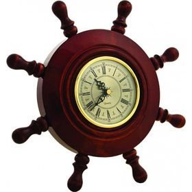Штурвал сувенирный С3 часы Ош