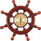 Штурвал сувенирный С7 часы