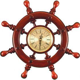 Штурвал сувенирный С7 часы Ош