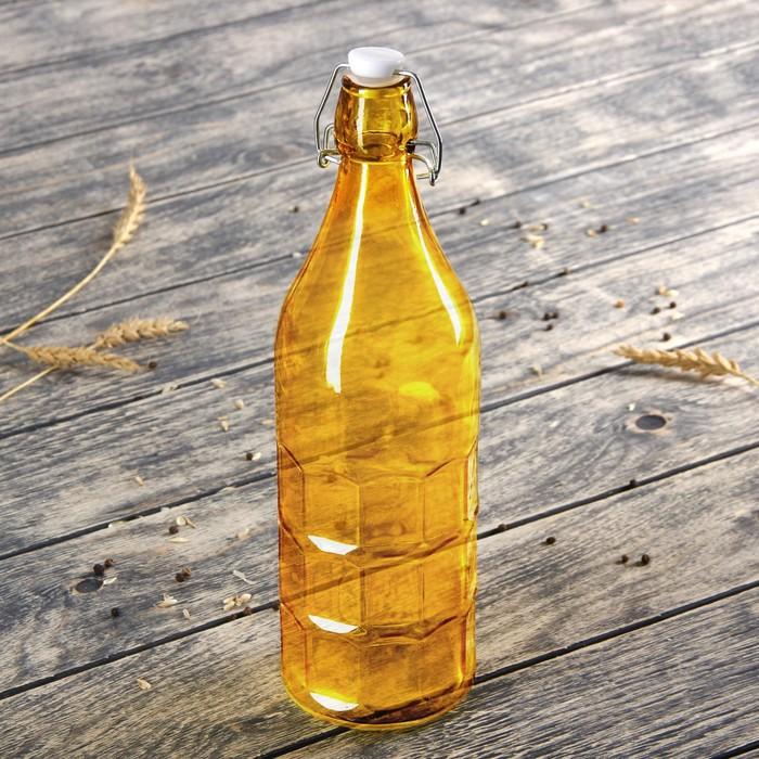 "Бутылка 1,2 л ""Галерея"", цвета МИКС"