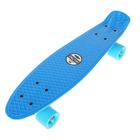 Скейтборд R2206, размер 55х15 см, колеса PU, АBEC 7, алюмини.рама, цвета микс