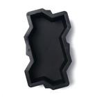 Форма для тротуарной плитки «Волна», 21 × 11 × 6 см, шагрень, Ф11006