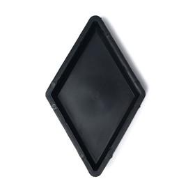 Форма для тротуарной плитки «Ромб», 19 × 33 × 4,5 см, гладкая, Ф31020, 1 шт
