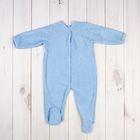 Комбинезон для мальчика, рост 56 см, цвет голубой 351421-1_М