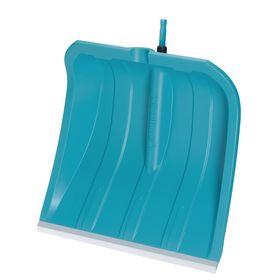Ковш лопаты пластиковый, 500 × 435 мм, с металлической планкой, голубой, комбисистема GARDENA