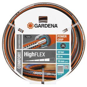"""Шланг, ПВХ, d=19 мм (3/4""""), L=25 м, 3-слойный, армированный, GARDENA HighFLEX"""