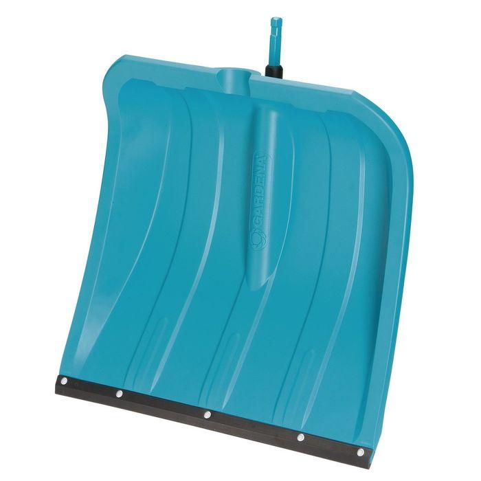 Ковш лопаты пластиковый, 400 × 435 мм, с пластиковой планкой, голубой, комбисистема GARDENA