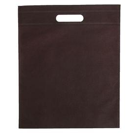 Пакет с вырубной ручкой, 29 х 35 см, кофе Ош