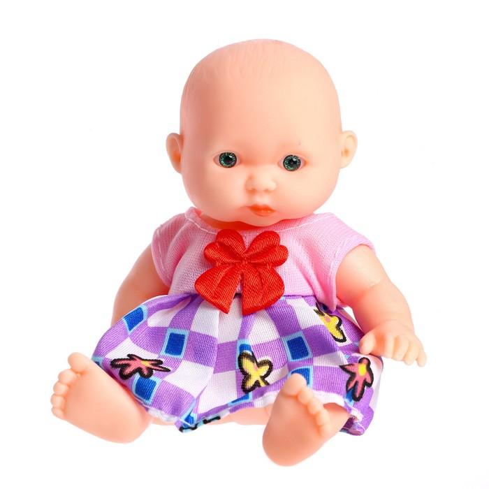 Пупс «Кариночка», в платье, цвета МИКС
