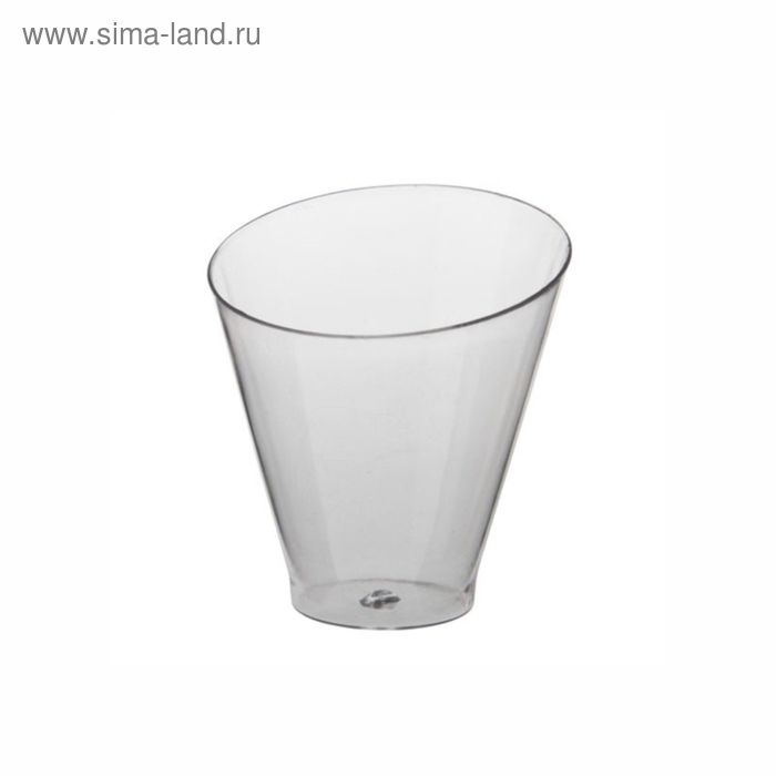 "Форма для фуршета ""Диагональ"", 70 мл, 60х64 мм, цвет прозрачный, PS, 25 шт"
