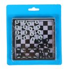 Игра настольная шахматы магнитные в кор с пласт крышкой 11*11см