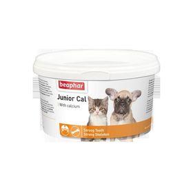 """Минеральная смесь Beaphar """"Junior Cal"""" для котят и щенков, 200 г"""