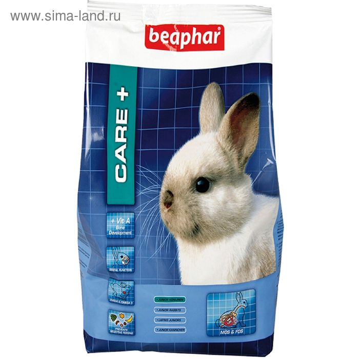 Сухой корм Beaphar Care+ для молодых кроликов, 0,25 кг.