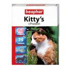 """Витамины Beaphar """"Kitty's"""" для кошек, протеин, 75 шт."""