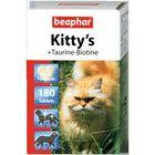 "Витамины Beaphar ""Kitty's"" таурин+биотин 180шт, для кошек"