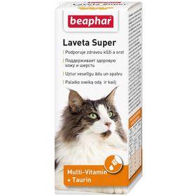 """Витамины Beaphar """"Laveta super"""" для кошек, при выпадении шерсти, 50 мл"""