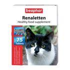 """Витамины Beaphar """"Renaletten"""" для кошек, при болезнях почек, 75 шт."""
