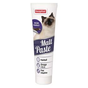 Паста Beaphar Malt Paste для кошек, для очистки кишечника, 100 г