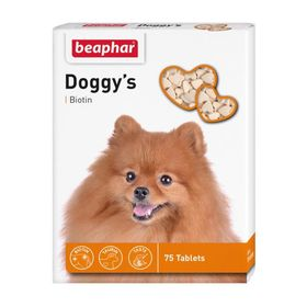 "Витамины Beaphar ""Doggy's"" для собак, биотин, 75 шт"