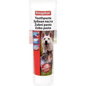 """Зубная паста Beaphar """"Toothpaste"""" со вкусом печени для собак и кошек, 100г"""