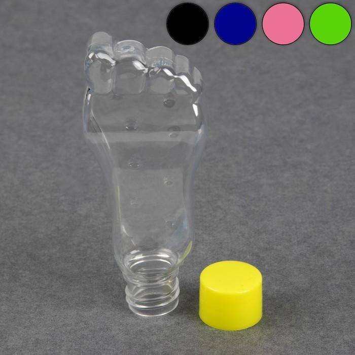 """Бутылочка для хранения """"Нога"""", 50мл, цвет МИКС"""