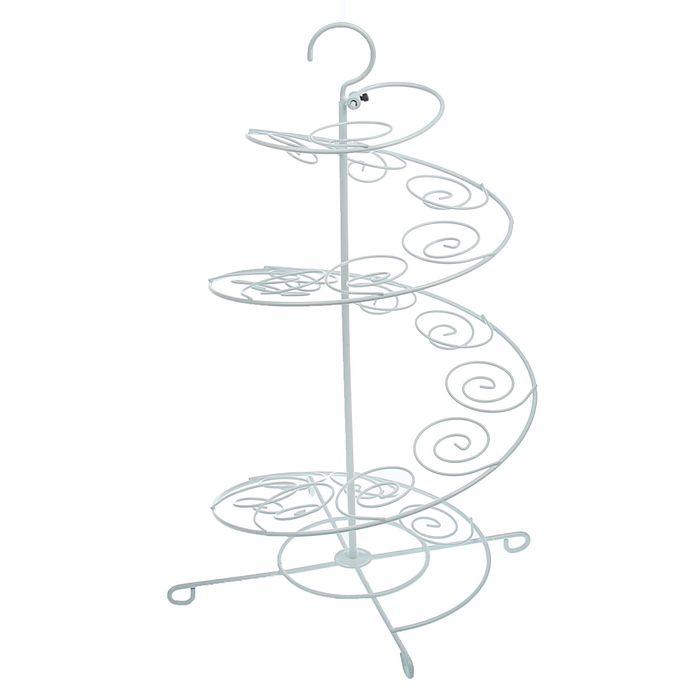 """Подставка для пирожных 27х27х47 см """"Спираль"""""""