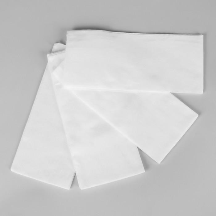 Полотенца косметические, одноразовые, 30 × 70 см, 50 шт