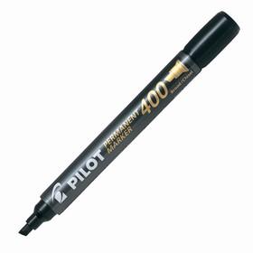 Маркер перманентный скошенный 4.0-1.0 мм Pilot Super Colour Markers чёрный SCA-400-B