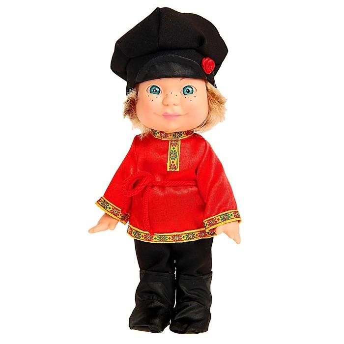 Кукла «Веснушка» в русском костюме, 26 см