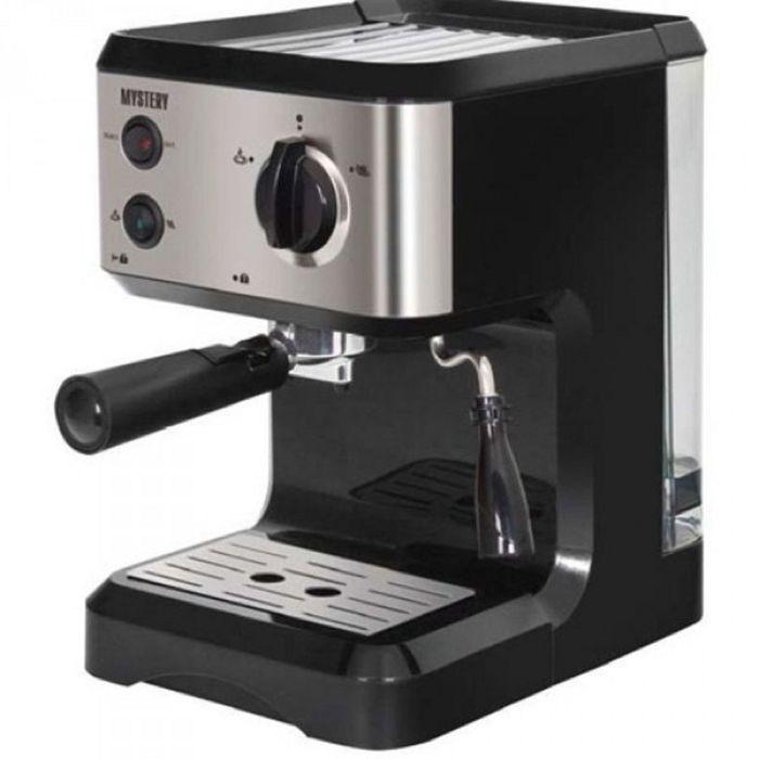 Кофеварка Mystery MCB-5115, 1050 Вт, 1.5 л, 15 бар, эспрессо