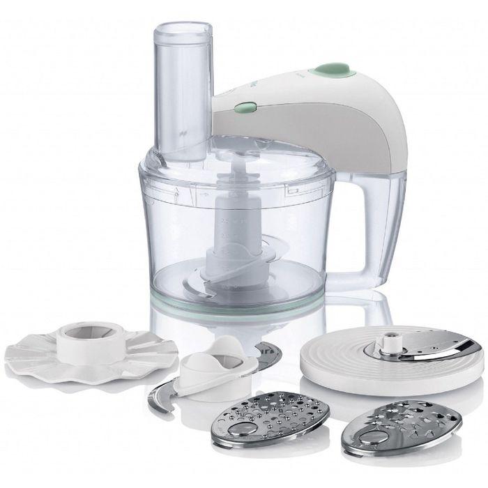 Кухонный комбайн Philips HR 7605, 350 Вт, 2.10 л, 4 насадки, эмульгатор