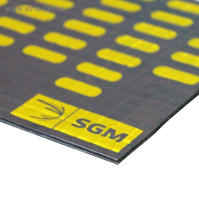 Вибродемпфирующий материал Алюмаст Альфа 1 (М1Ф) 1,7 мм, лист 0,5 х 0,8 м