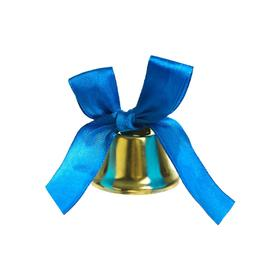 The bell outlet with a blue bow