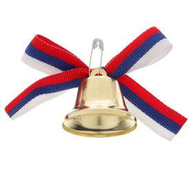 Bell prom with bowknot tricolor