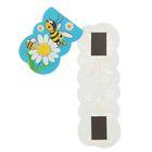 """Магнитная закладка """"Пчелы и ромашки"""""""