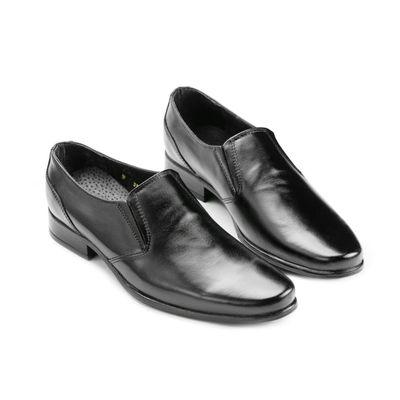 Туфли демисезонные «Офицер 52/1» с кожаным подкладом, р-р 43