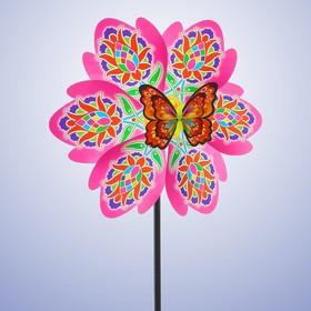 Ветерок «Цветик», с бабочкой МИКС