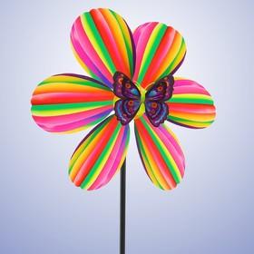 Ветерок «Семицветик», с бабочкой МИКС