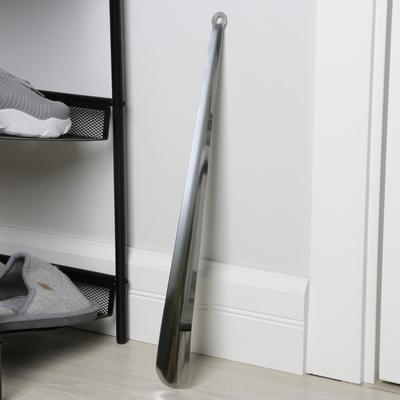 Ложка для обуви 45х4 см, нерж.сталь
