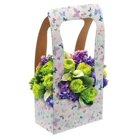 "Bag for flowers, ""Butterflies"", 23 × 45 × 13 cm"